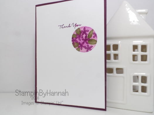 Stampin' Up! UK What I Love Sale-a-bration