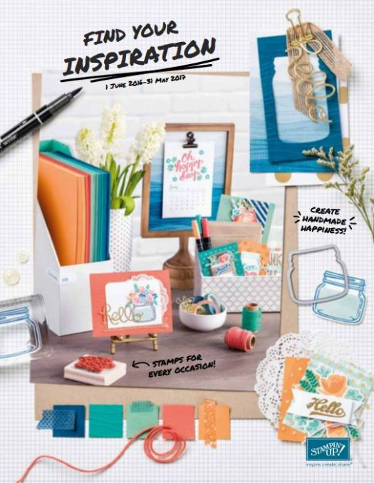 Stampin Up! UK annual catalogue 2016-2017