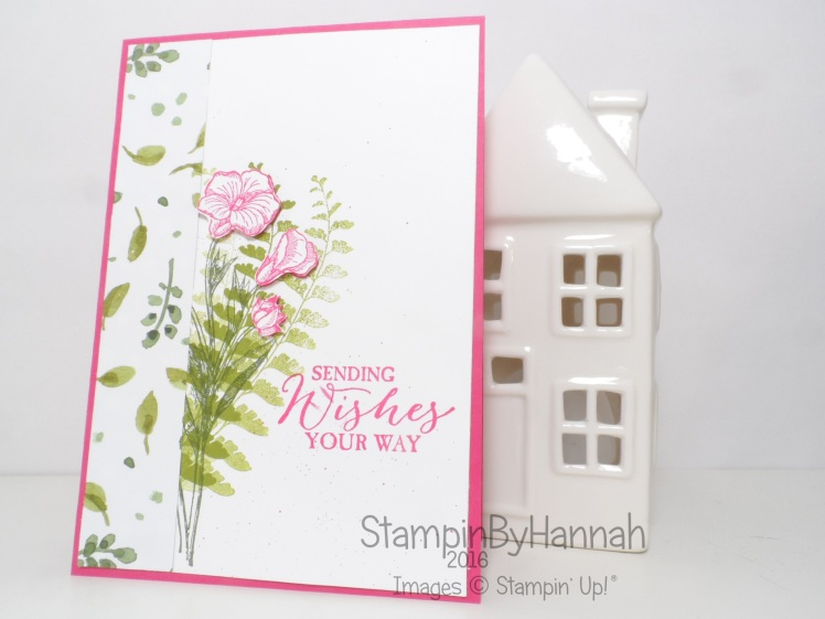 Stampin' Up! UK Butterfly Basics English Garden Card