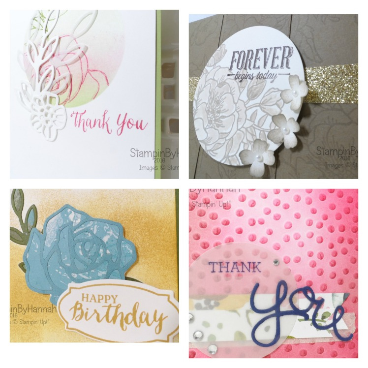 Stampin' Up! UK Weekly Deals April 2016