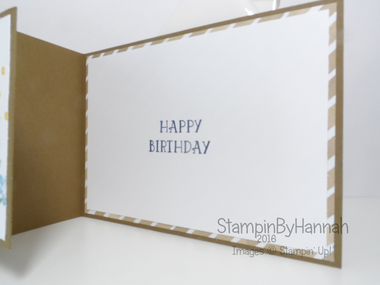 Fancy Fold Friday Number of Years Birthday Card Video tutorial