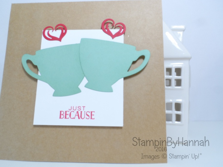 Gift Card Holder Featuring Cups and Kettles from Stampin' Up!