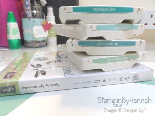 Stampin' Up! UK Awesomely Artistic Stamp Layering