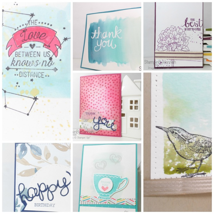 Stampin' Up! UK Retiring Stamps