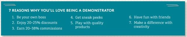 7 reasons why youll love being a demonstrator