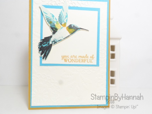 Humming Bird Card featuring Picture Perfect from Stampin' Up! UK