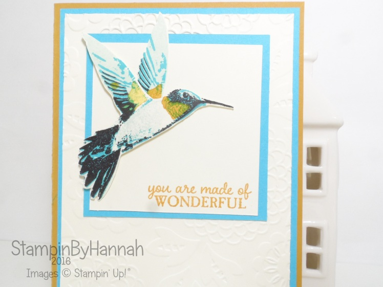 Picture Perfect Humming bird from Stampin' Up! Uk