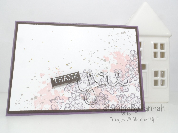 Global Design Project Case the Designer Thank You featuring Hello You from Stampin' Up!