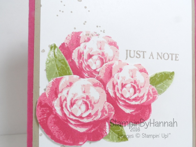 Video Tutorial featuring Picture Perfect from Stampin' Up!