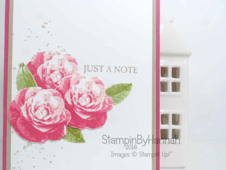 Make It Monday Featuring Stampin Up Picture Perfect Video Tutorial