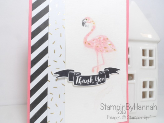 Flirty Flamingo Pop of Paradise from Stampin' Up! UK
