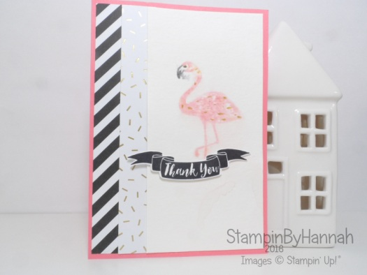 Make It Monday using Pop of Paradise from Stampin' Up! UK