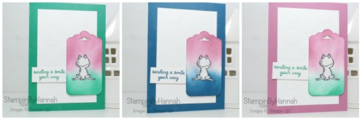 Stampin' Up! UK Love you Lots Cards