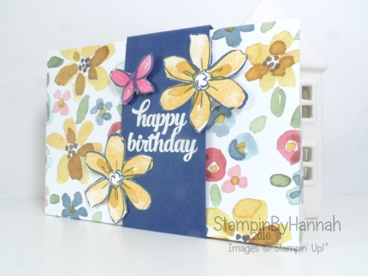 Simply Sketched Saturday Challenge Blog Hop Birthday Envelope English Garden