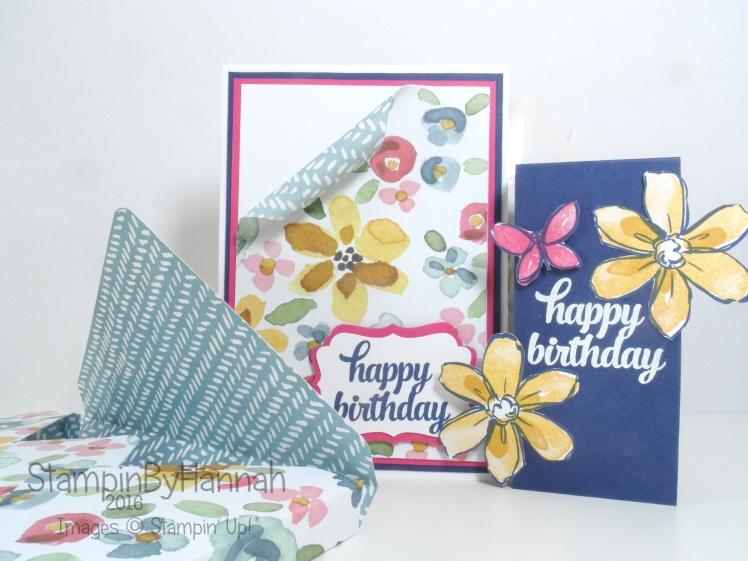 Stampin' Up! UK Birthday Card English Garden