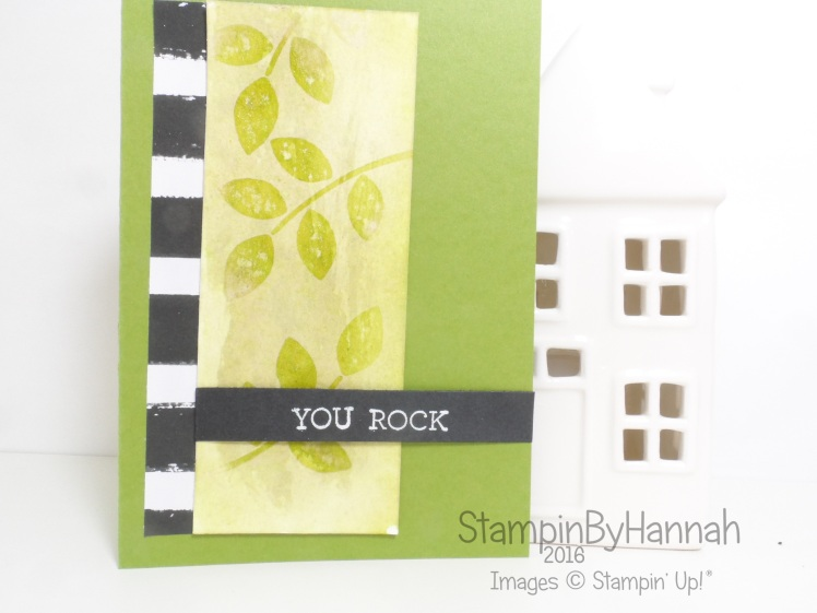 Make It Monday Watercolour Lifting Using Crazy About You from Stampin' Up! UK