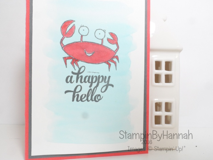 You're Sublime Friend Card Using Stampin' Up! Products