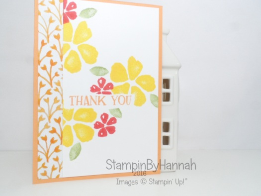 Thank You cards using Fresh Fruit and Fruit Stand Designer Series Paper from Stampin' Up!