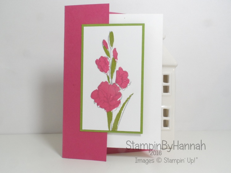 Fancy Fold Friday Video Tutorial using Gifts of Love from Stampin' Up!