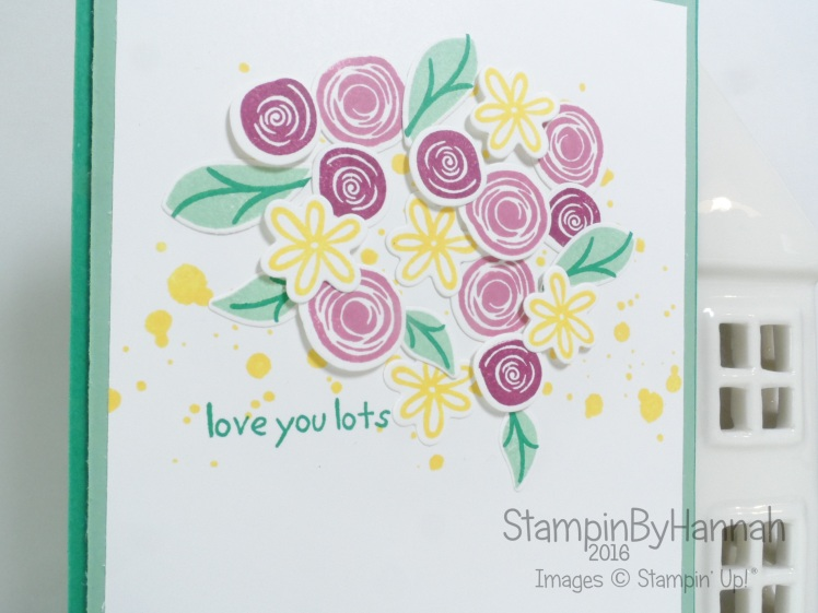Love You Lots card featuring Swirly Bird from Stampin' Up! UK