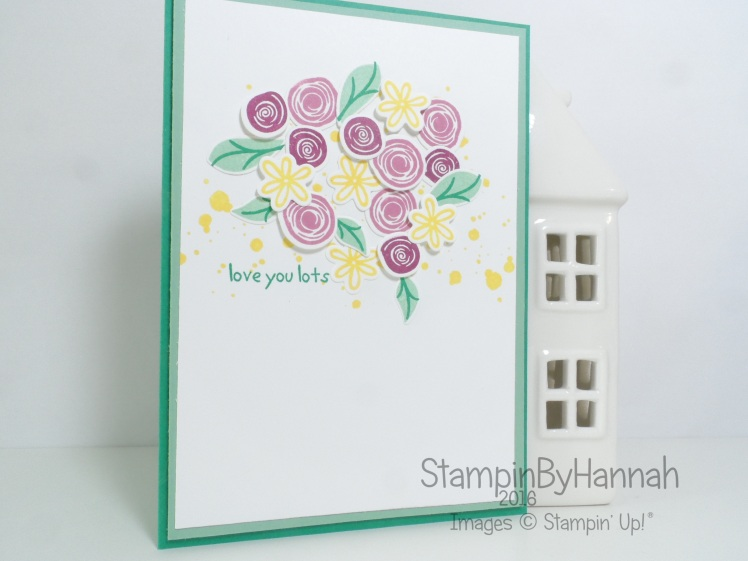 Swirly Bird Love You Lots Stampin' Up! UK