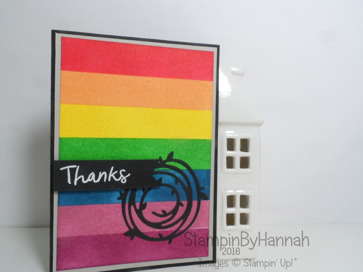 Make It Monday Ink Blending Video Tutorial Thankful Thoughts Swirly Scribbles from Stampin' Up! UK