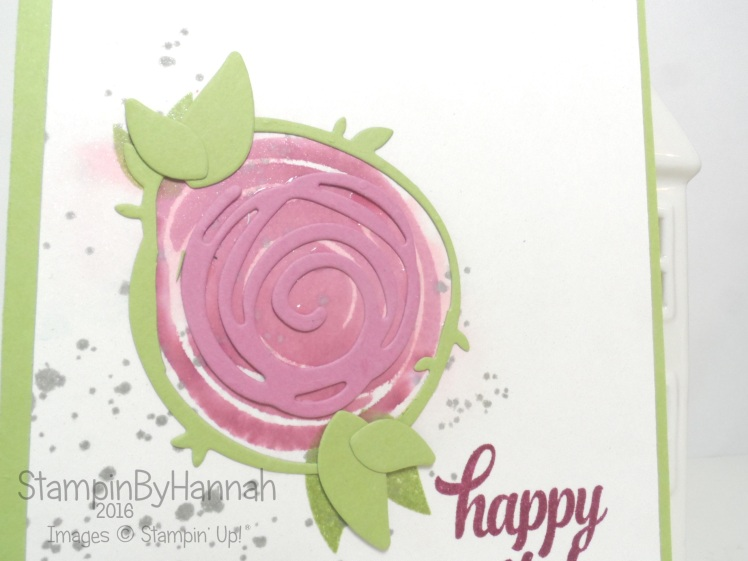 Swirly Bird Video Tutorial Stampin' Up! UK