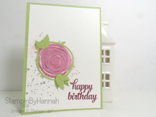 Make It Monday Video Tutorial Featuring Swirly Bird from Stampin' Up! UK