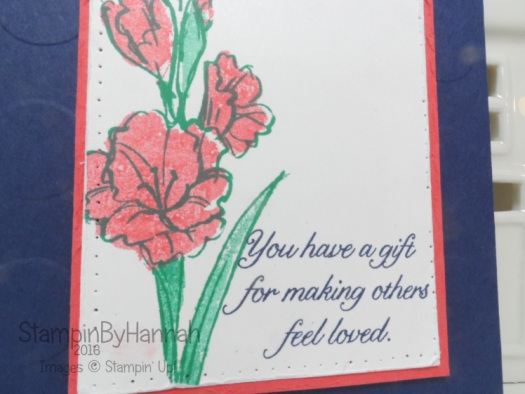 Gifts of Love 2 step stamping Stampin' Up! UK