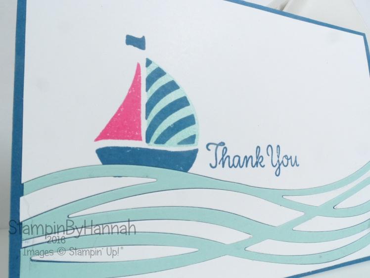 Boat Boy Birthday Swirly Bird Stampin' Up!