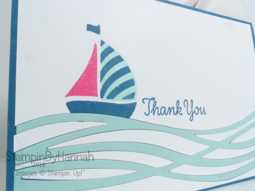 Boat Boy Birthday Swirly Bird Stampin' Up!