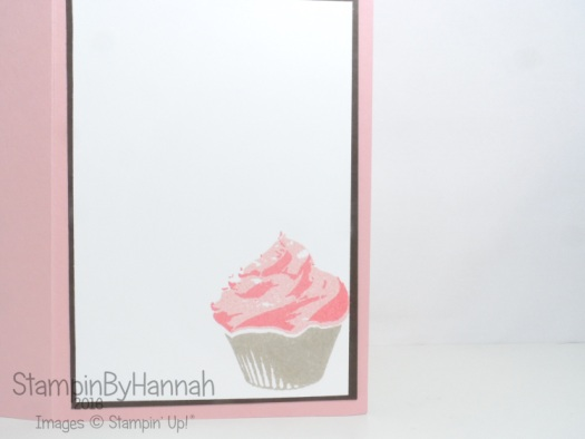 Birthday Card using Sweet Cupcake from Stampin' Up!