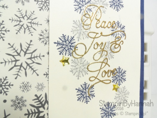 Christmas in July Peace this Christmas Stampin' Up! Uk