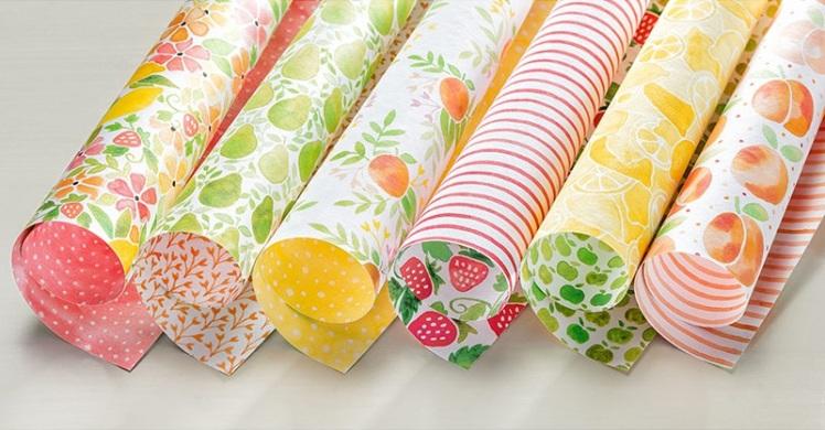 Designer Series Paper Fruit Stand Stampin' Up! Uk