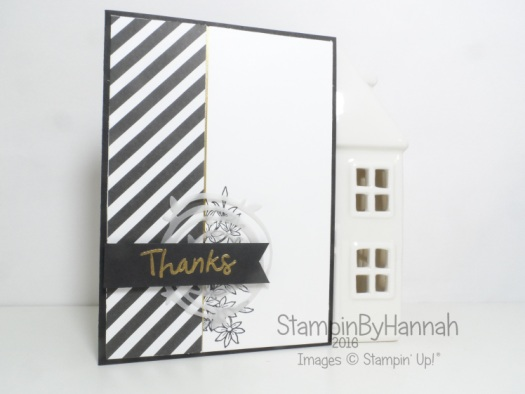 Thank you card using Swirly Scribbles Awesomely Artistic Thankful Thoughts from Stampin' Up! UK