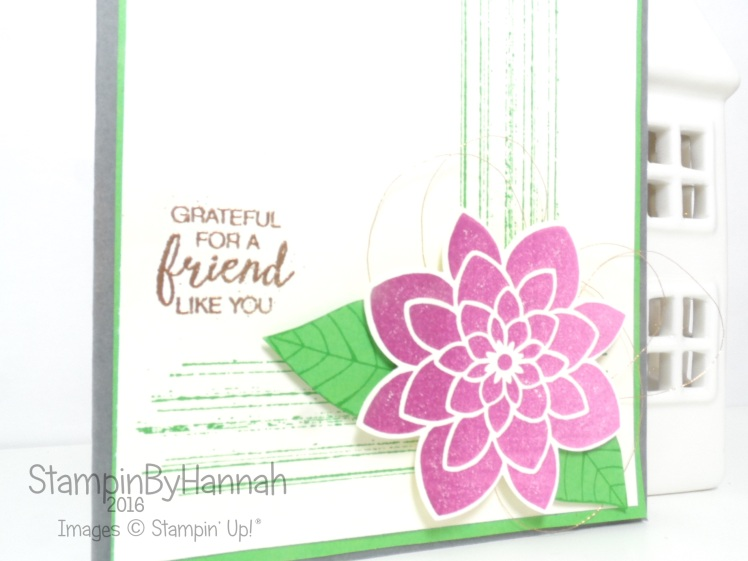 Simply Sketched Saturday Challenge July 2016 Featuring Crazy about you from Stampin' Up!