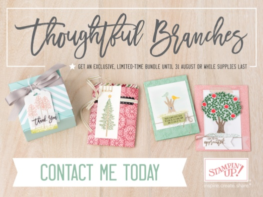 Stampin' Up! UK Thoughtful Branches