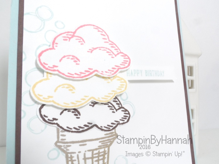 Sprinkles of Life Playful Backgrounds Birthday card using Stampin' Up! UK products