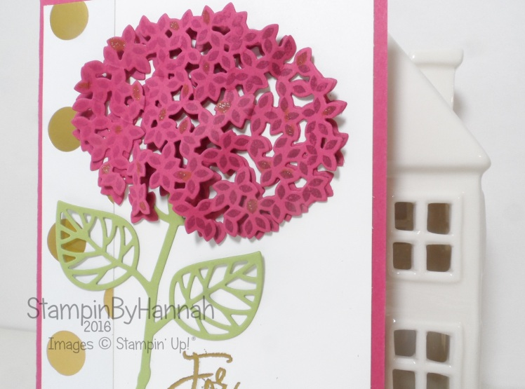 For You using Thoughtful Branches from Stampin' Up! UK