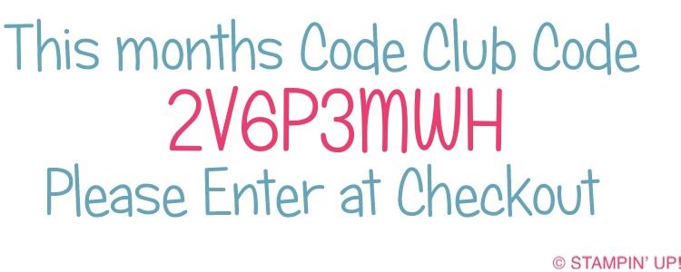 Stampinbyhannah Code Club stampin' Up! UK