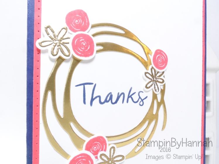 Swirly bird card using Stampin' Up! UK products