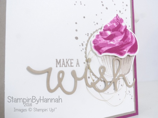 Make It Monday Ombre Stamping Technique video using Sweet Cupcake from Stampin' Up! UK