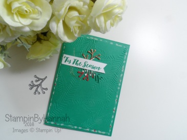 Pootles Blog Hop Autumn Winter Stampin Up! Catalogue Christmas Pines