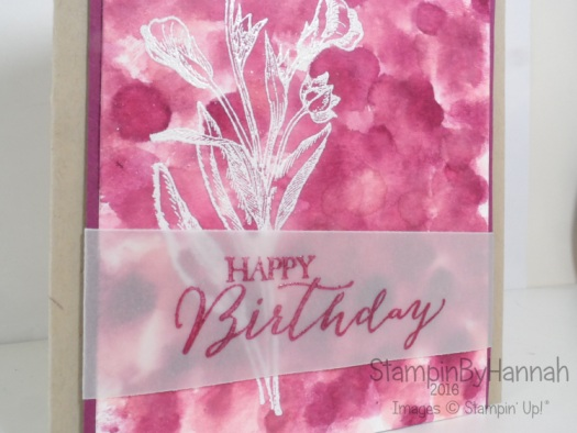 Butterfly Basics Card using Stampin' Up! UK products