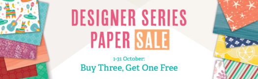 Stampin' Up! UK Designer Series Paper Sale