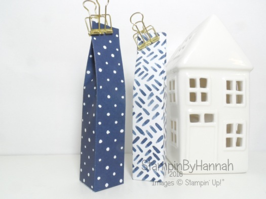 Make It Monday Tall Skinny Gift Bag for childrens chocolates using Floral Boutique from Stampin' Up! UK