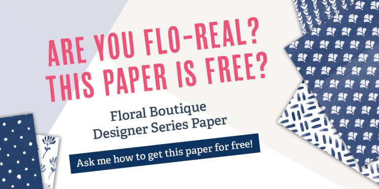 Buy 3 Get one FREE Stampin' Up! Designer Series Paper