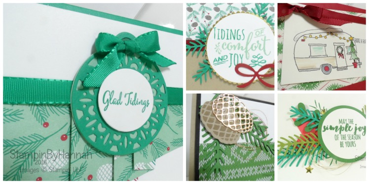 Christmas Stamp a Stack event using Stampin' Up! UK products