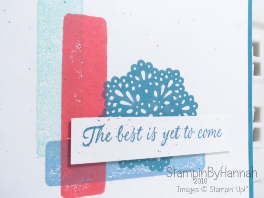 Simply Sketched Saturday Challenge using Frosted Medallions from Stampin' Up! UK