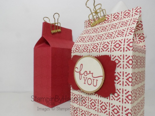 Christmas Countdown Small Gift bag video tutorial using This Christmas from Stampin' Up! UK
